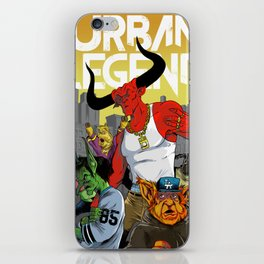 Urban Legend iPhone Skin