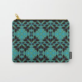 Leaf pattern 1a Carry-All Pouch