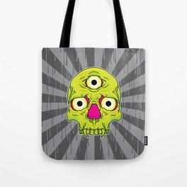 3 Eyed Jackass (green) Tote Bag