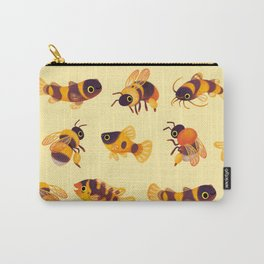 Bumblebee and fish Carry-All Pouch