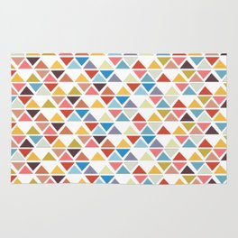Triangle love Rug