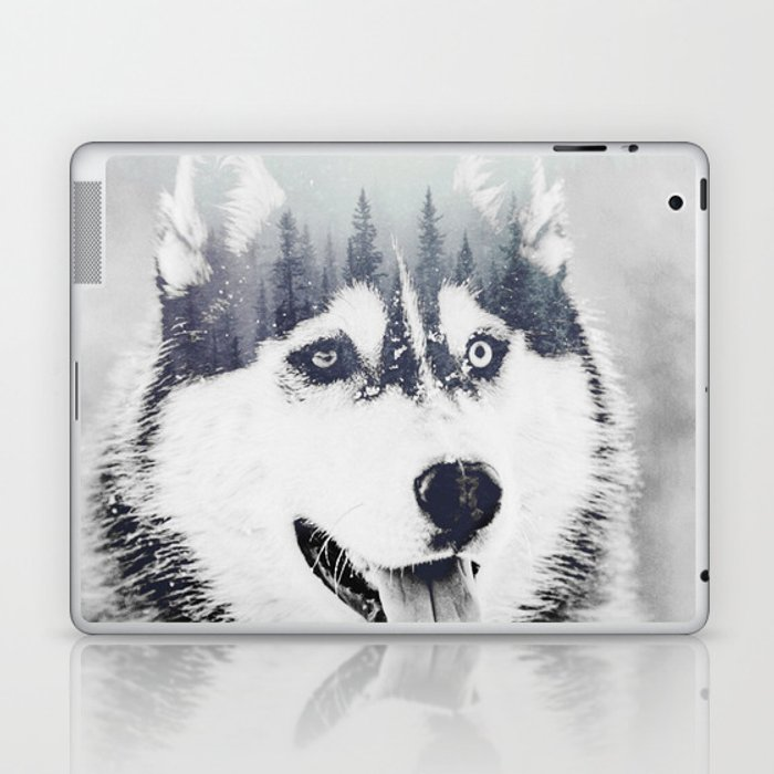 Huskie Laptop & iPad Skin