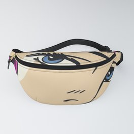A roughly vectorised and reworked pop art Fanny Pack