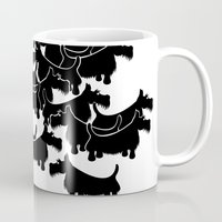 terrier Mugs featuring Scottish Terrier by mailboxdisco