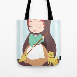 Porcelain Girl (Redhead) Tote Bag