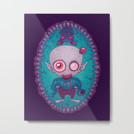 Nosferatu Jr. Metal Print