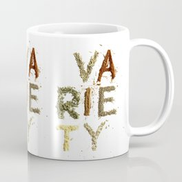 Variety is the Spice of Life Coffee Mug