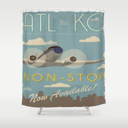 Atl to KC Shower Curtain