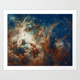 Space Nebula, Star and Space, A View of Galaxy and Outerspace Art Print