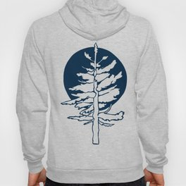 Evergreen Tree in the Moonlight Hoody