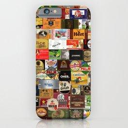 Proud to be Belgian - Belgium beer Labels iPhone Case