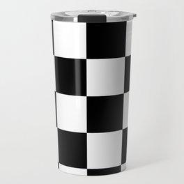 checker Travel Mug