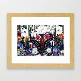 Italians Wildflowers by Joseph Stella Framed Art Print