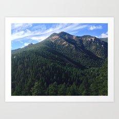 Cheyenne Canyon Art Print