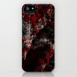 Sardinia Red Rock iPhone Case