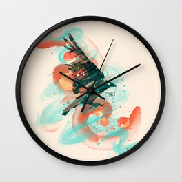 Ravenous Wall Clock