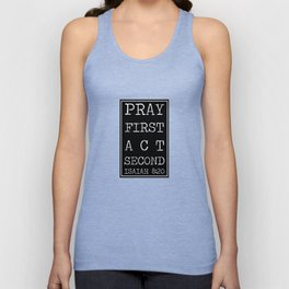 Christian quote Unisex Tank Top