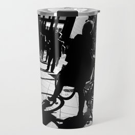 Berlin's streets in black and white 2 Travel Mug