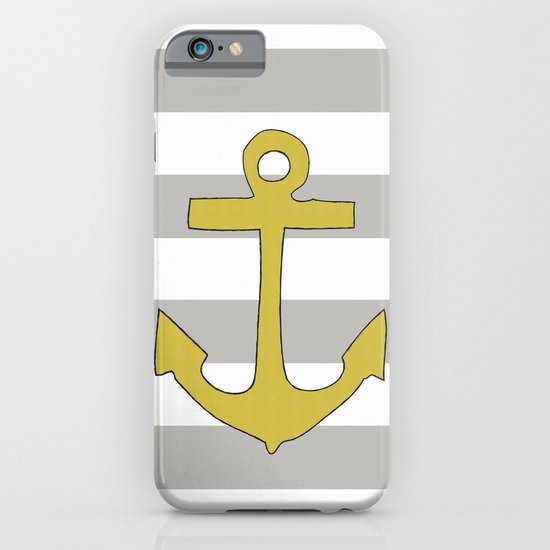 Golden Anchor iPhone & iPod Case