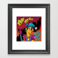 Kirby Krackle - Super Powered Love - Album Art Framed Art Print