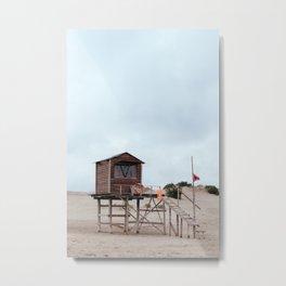 Lifeguard's cabin Metal Print