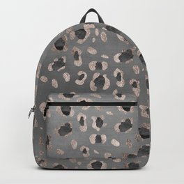 Leopard Animal Print Glam #6 #shiny #pattern #decor #art #society6 Backpack