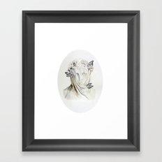 Staue of Spring Framed Art Print
