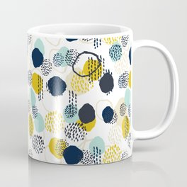 Jamm - abstract art painting brushstrokes modern minimal paint trendy colors hipster gender neutral  Coffee Mug