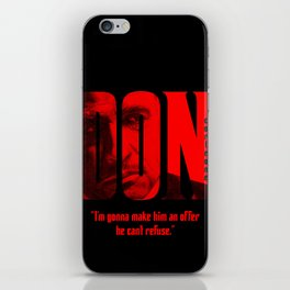 Don Vito Corleone iPhone Skin