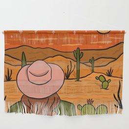 Desert Girl Wall Hanging