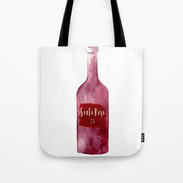 Santa Rosa, CA - Wine Country Love Tote Bag