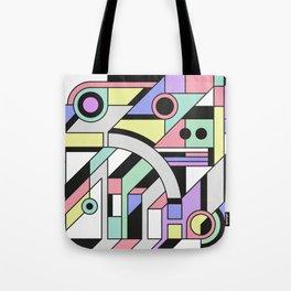 De Stijl Abstract Geometric Artwork Tote Bag