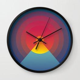 The evening. Wall Clock