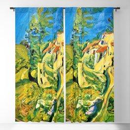 12,000pixel-500dpi - Chaim Soutine - Landscape - Digital Remastered Edition Blackout Curtain