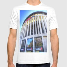 Besiktas JK Stadium Istanbul White Mens Fitted Tee MEDIUM