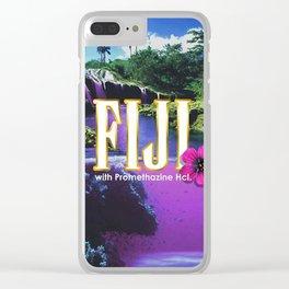 Purple Dream Clear iPhone Case