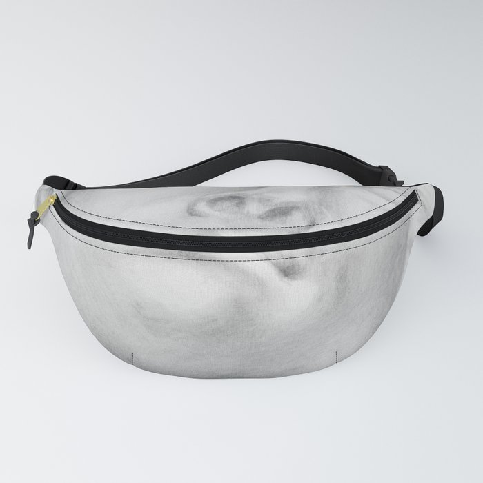 Neoclassical French head statue Fanny Pack