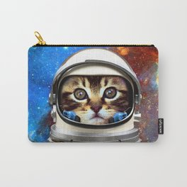 Astronaut Cat #2 Carry-All Pouch