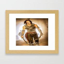G-dragon The King Framed Art Print