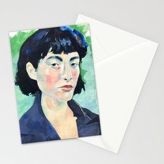 Profile in Acrylic Stationery Cards