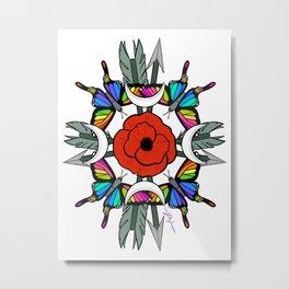 Divine Symbols Metal Print