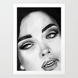 Amy Jackson Art Print