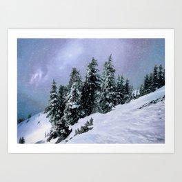 Hidden Peak Art Print