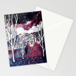Night Travels revisited Stationery Cards