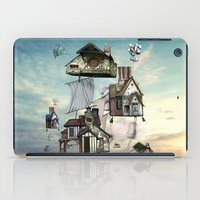 house iPad Cases featuring house by Кaterina Кalinich