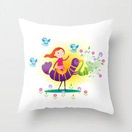 Lorem Ipsum 01 Throw Pillow