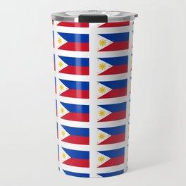 Flag of Philippines -Pilipinas,Filipinas,filipino,pinoy,pinay,Manila,Quezon Travel Mug