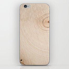 Real Wood Texture / Print iPhone Skin