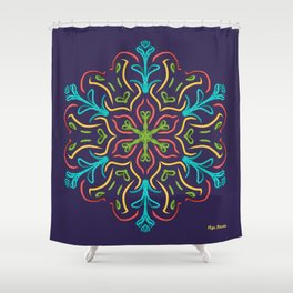 Llegó la Primavera (Ultravioleta) Shower Curtain