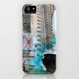 Falling from balconies iPhone Case